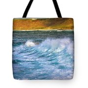 Storm Wave Tote Bag