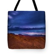 Stormline Above Mountains Tote Bag