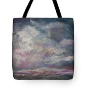 Storm's Approaching Tote Bag by Michele A Loftus