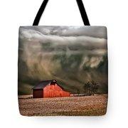 Storm's Coming Tote Bag