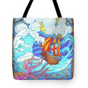 Storms Of Life Tote Bag