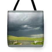 Storms Rolling In Tote Bag