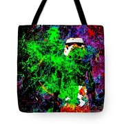 Star Wars Stormtrooper And Fire Tote Bag