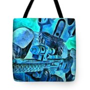 Stormtrooper And Weapon - Pa Tote Bag