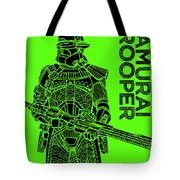 Stormtrooper - Green - Star Wars Art Tote Bag