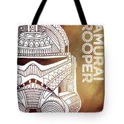 Stormtrooper Helmet - Brown - Star Wars Art Tote Bag