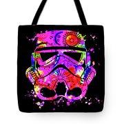 Stormtrooper Mask Rainbow 10 Tote Bag