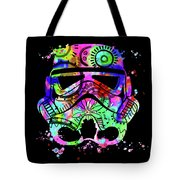 Stormtrooper Mask Rainbow 6 Tote Bag