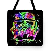 Stormtrooper Mask Rainbow 8 Tote Bag