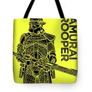 Stormtrooper - Yellow - Star Wars Art Tote Bag