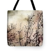 Stormy Autumn - Nature Art Tote Bag