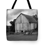 Stormy Barn Tote Bag by Perry Webster