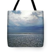 Stormy Beach Beauty Tote Bag