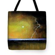 Stormy Beach Tote Bag