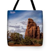 Stormy Clouds Tote Bag