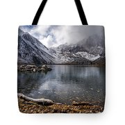 Stormy Convict Lake Tote Bag