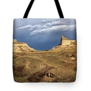 Stormy Day At Mitchell Pass Tote Bag