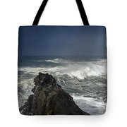 Stormy Day At Sunset Bay Tote Bag