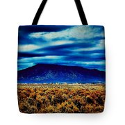 Stormy Day In Taos Tote Bag