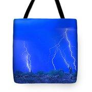 Stormy Desert Tote Bag