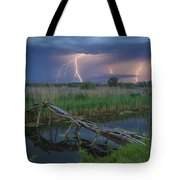 Stormy Evening Tote Bag