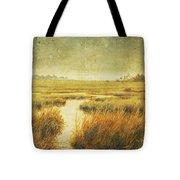Stormy Marsh Tote Bag