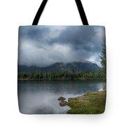 Stormy Morning At Dillon Tote Bag