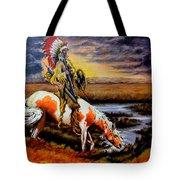 Stormy Prairie Tote Bag