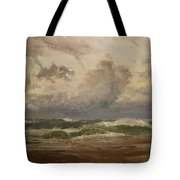 Stormy Sea At Bude Tote Bag