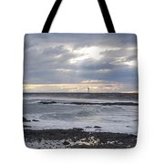 Stormy Seas And Sky Tote Bag