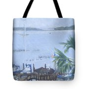 Stormy Skull Creek Tote Bag