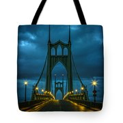 Stormy St. Johns Tote Bag