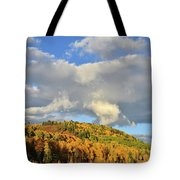 Stormy Sunrise In Colorado Tote Bag