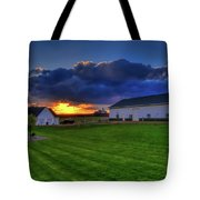 Stormy Sunset In The Country Tote Bag