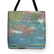 Stormy Coastal Sunset Tote Bag