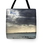 Stormy Whitley Bay Tote Bag