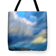 Stormy Winter Sky Tote Bag