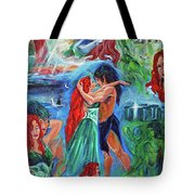 Story Of Vaehema Tote Bag