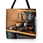Stove - Breakfast At My Great Grandmothers Tote Bag