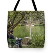 Stow Lake Tote Bag by Kate Brown