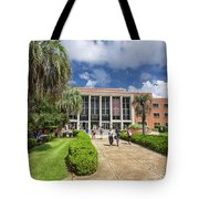 Stozier Library At Florida State University Tote Bag