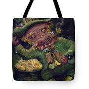 St.patricks Day Pig Tote Bag