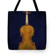 Stradivarius Violin Back Tote Bag