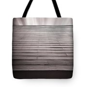 Straight Line Above Tote Bag