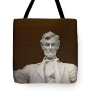 Straight On Abe Tote Bag