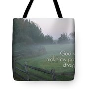 Straight Paths - Text Full Tote Bag