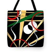 Straights And Rounds.2 Tote Bag
