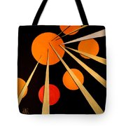 Straights And Rounds.3 Tote Bag
