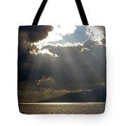 Strait Of Messina II Tote Bag
