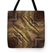Strange Abstract  Tote Bag